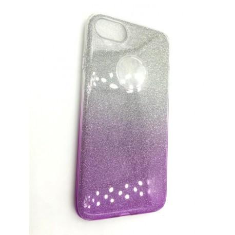 Силиконовый чехол Diamond с градиентом  для  iPhone 7 Plus Фиолетовый infinity