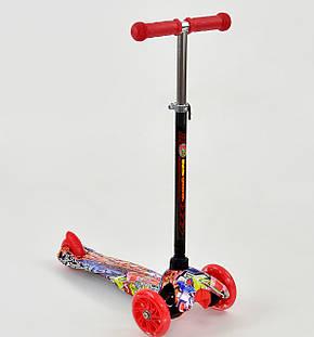 """Детский самокат MINI """"Best Scooter"""".Самокат с подсветкой, фото 2"""