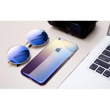 Ультратонкий пластиковый чехол с градиентом Baseus Glaze Case для iPhone 7 Фиолетовый infinity
