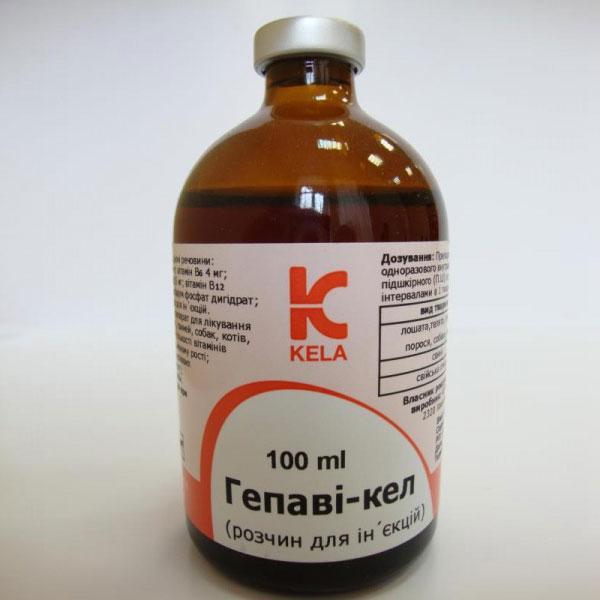 Вітаміни Kela Hepavi-kel Гепаві-кел 100 мл