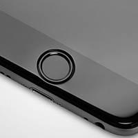Наклейка на кнопку HOME для iPhone/iPad Черная infinity