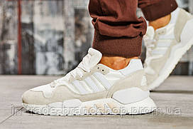 Кроссовки мужские Adidas Original, бежевые (15542) размеры в наличии ► [  40 41 42  ]