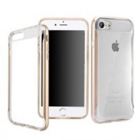 Силиконовый чехол Baseus Fusion Case  для  Apple iPhone 7 Золотой infinity