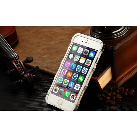 Бампер iMatch из нержавеющей стали на IPhone 6/6S (4.7) Серебристый infinity
