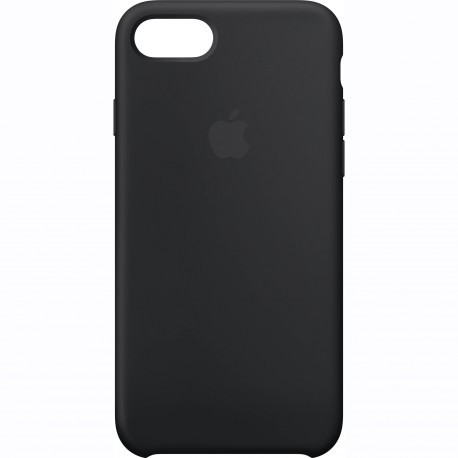 Apple Силиконовый чехол Apple Silicone Case Black для iPhone 7 infinity