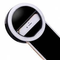 Селфи кольцо черное infinity