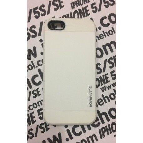 Чехол Spigen Slim Armor для iPhone 5/5S/SE Белый infinity