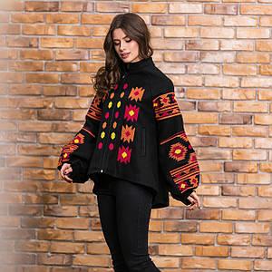 Пальто кашемировое c вышивкой