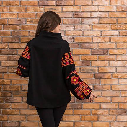 Пальто кашемировое c вышивкой, фото 2