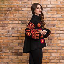 Пальто кашемировое c вышивкой, фото 3