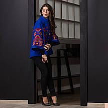 Пальто жіноче з вишивкою, фото 2