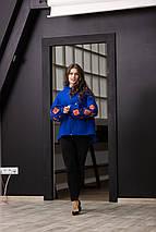 Пальто кольорова геометрія, фото 3