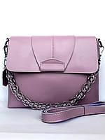 """Женский кожаный клатч """"Marina"""" фиолетовый"""