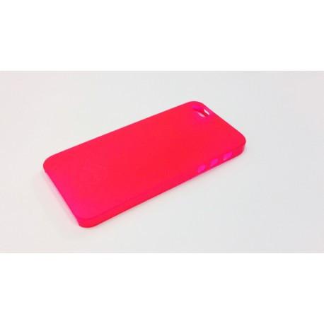Чехол Ozaki O!coat 0.3 Jelly Red для iPhone 5S/5/SE infinity