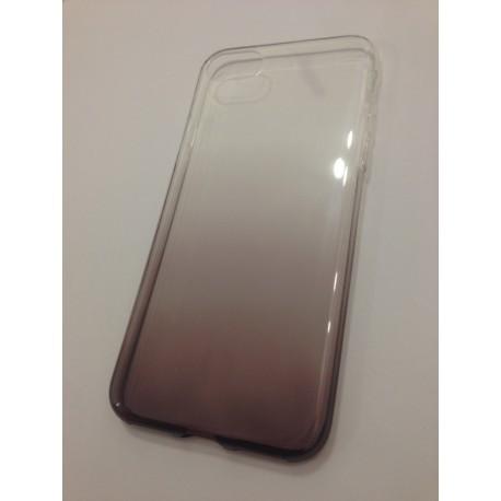 Силиконовый чехол с градиентом  для  iPhone 7 Plus Коричневый infinity