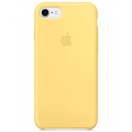 Cиликоновый Желтый чехол Apple для iPhone 7/8 infinity