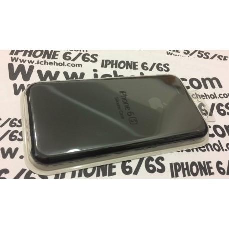 Cиликоновый Черный чехол Apple для iPhone 6/6S infinity