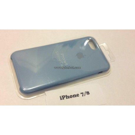 Cиликоновый Голубой чехол Apple для iPhone 7/8 infinity