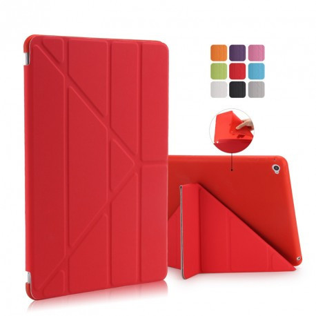 Чехол smart case силиконовый для iPad 2017 красный infinity