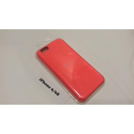 Силиконовый чехол для iPhone 6 розовый infinity