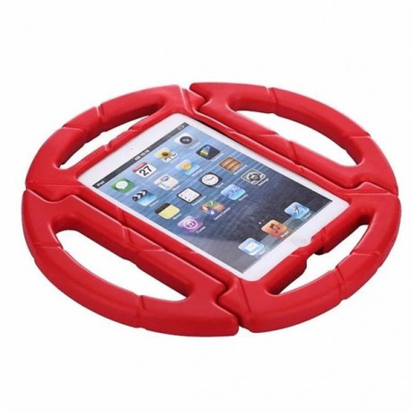 Детский чехол руль с подставкой для iPad 2017 Красный infinity