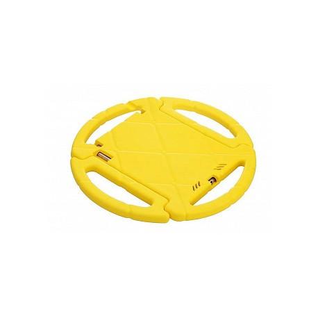 Детский чехол руль с подставкой для iPad 2017 Желтый infinity