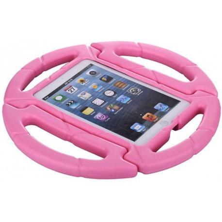 Детский чехол руль с подставкой для iPad 2/3/4 Розовый infinity