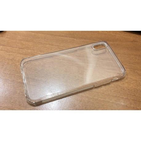 Прозрачный TPU чехол силиконовый для iPhone X infinity