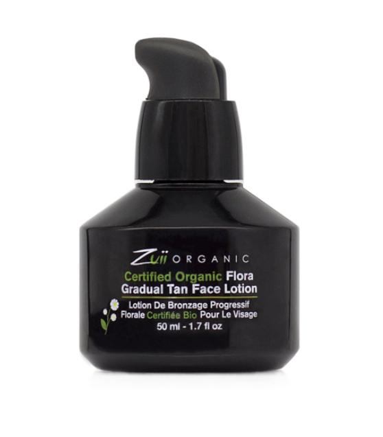 Органический лосьон для постепенного загара лица Zuii Organic, 50мл