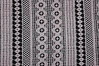 Ткань макраме, цвет мокко.№4 (направление рисунка по долевой) 1,32 см, фото 1