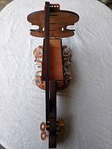 Мини-бар Скрипка с рюмками, фото 3