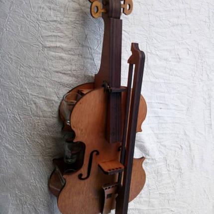 Мини-бар Скрипка с рюмками, фото 2