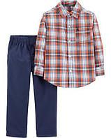 Костюм штаны и рубашка Carter´s Картерс для мальчика 24М