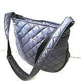 Женские стеганные сумки дешево опт до 100грн (черный)28*33см, фото 2