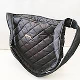 Женские стеганные сумки дешево опт до 100грн (синий)28*33см, фото 2