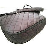 Женские стеганные сумки дешево опт до 100грн (синий)28*33см, фото 3