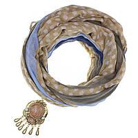 Шарф женский Джакомо с  кольцом для шарфа(платка)