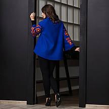 Пальто жіноче з вишивкою, фото 3