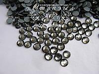 Термо стразы Lux ss16 Black Diamond (4.0mm) 1440шт, фото 1