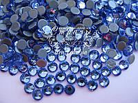 Термо стразы Lux ss16 Lt.Sapphire (4.0mm) 100шт, фото 1