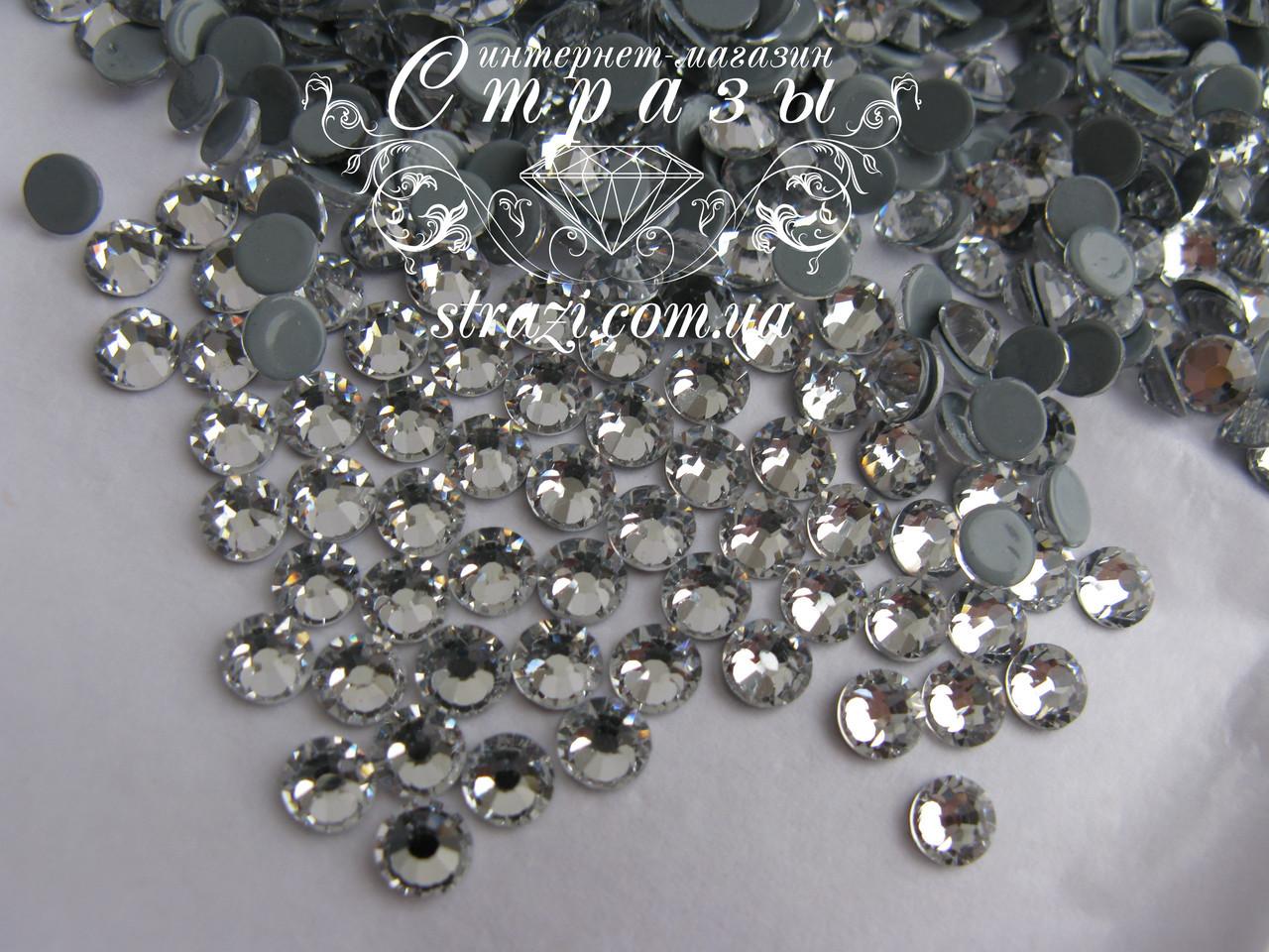 Термо стразы Lux ss16 Crystal  (4.0mm) 100шт