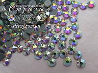 Термо стразы Lux ss16 Crystal AB (4.0mm) 100шт, фото 1