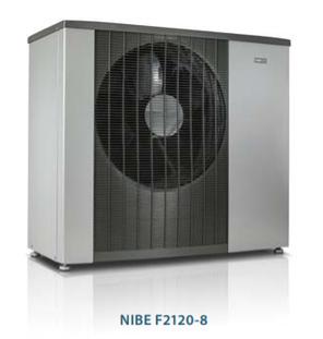 NIBE F2120-8 400В Моноблочний тепловий насос зі змінною потужністю до 6,3 кВт. 064135, фото 2