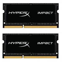 Оперативная память Kingston 16 GB (2x8GB) SO-DIMM DDR3L 1866 MHz HyperX Impact (HX318LS11IBK2/16)