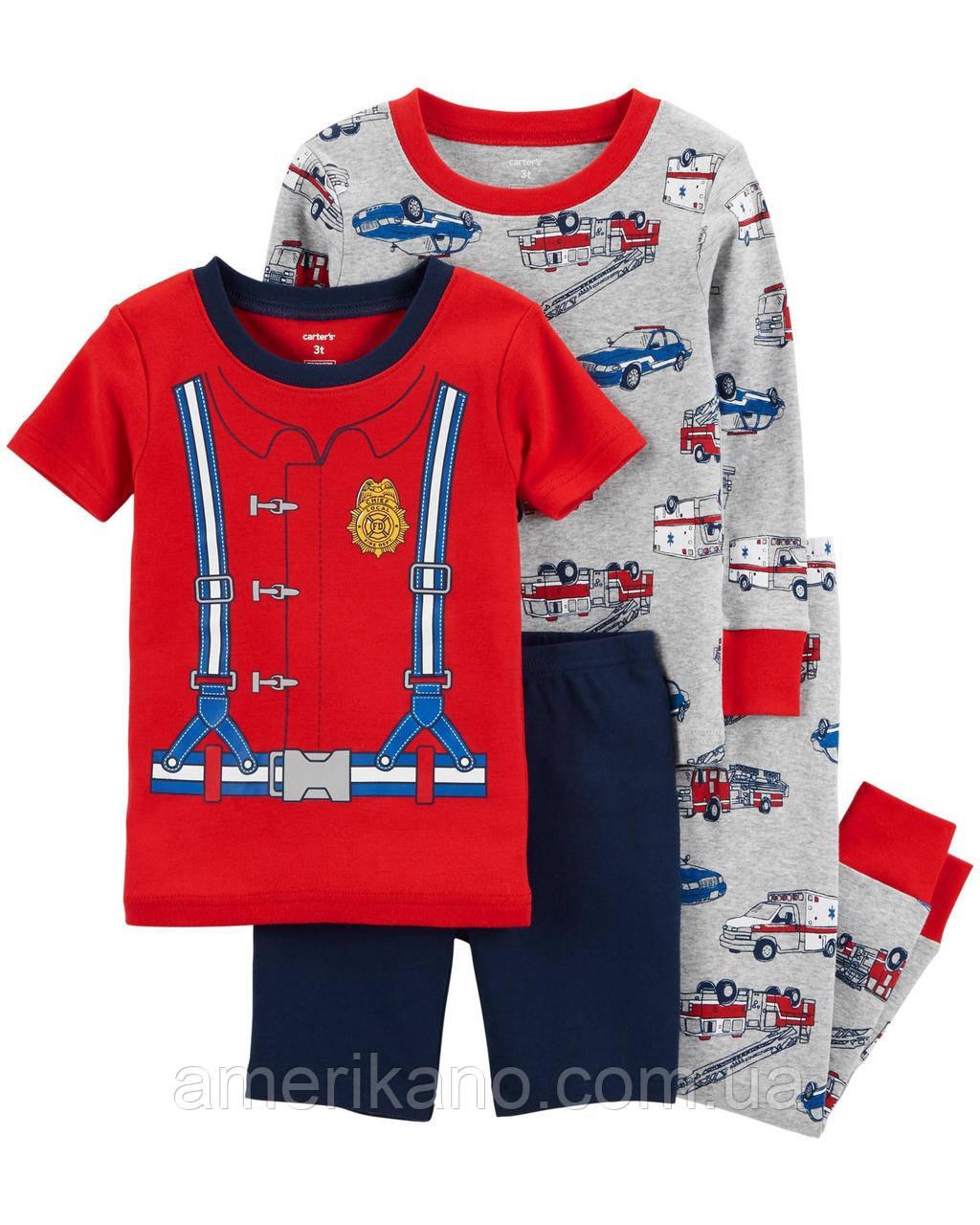 Хлопковая пижама Carter´s Картерс из США 2Т на 2-3 года Цена за штуку