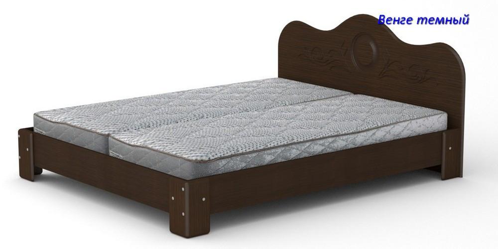 Двуспальная кровать Компанит - 150 МДФ
