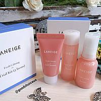 Набор для чувствительной кожи Laneige Fresh Calming Trial Kit