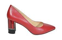 Классические туфли женские красные Molka
