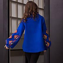 Пальто кольорова геометрія, фото 2