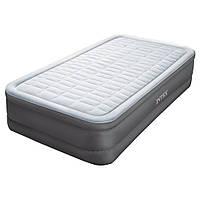 Надувная кровать Intex 64482 встроенный электронасос Односпальная